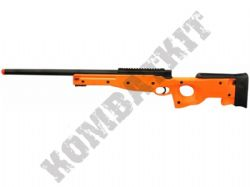 M59A L96 Airsoft Sniper Rifle BB Gun Metal Barrel Black and Orange